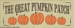 1534 - The Great Pumpkin Patch