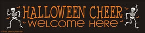 1536 - Halloween Cheer Welcome Here