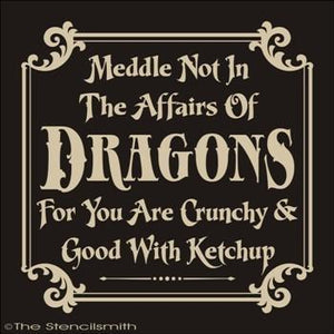 1542 - Meddle not in the affairs of Dragons