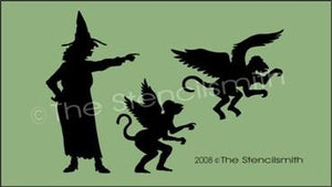 Witch - 8 flying monkeys