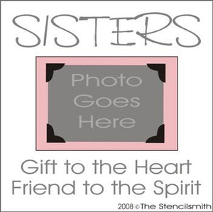SISTERS - gift to the heart - FRAME