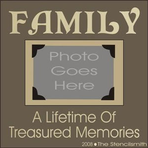 FAMILY - Treasured Memories FRAME