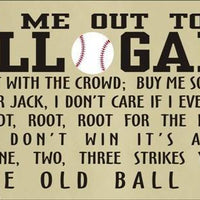 1617 - Take Me Out To The Ball Game