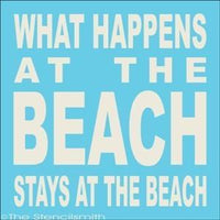 1653 - What happens at the BEACH stays