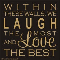 1661 - Within these walls ... Laugh Love