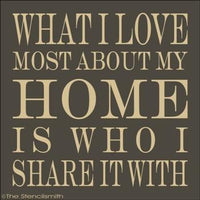 1663 - what i love most about my HOME