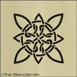 1678 - Celtic Knotwork Flower