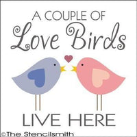 1687 - A couple of Love Birds live here