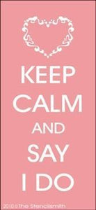 1716 - Keep Calm and Say I Do