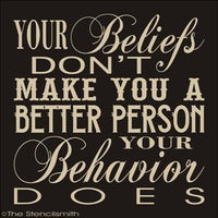 1738 - Your beliefs don't make you