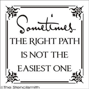 1753 - Sometimes the right path