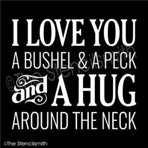 1766 - I love you a bushel and a peck