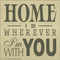 1772 - HOME is wherever I'm with you