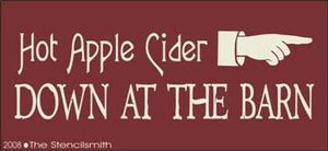 177 - Hot Apple Cider Down at the Barn