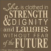 1840 - She is clothed in strength