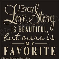 1843 - Every Love Story is beautiful