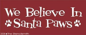 186 - We Believe in Santa Paws
