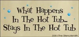205 - What Happens In The Hot Tub Stays