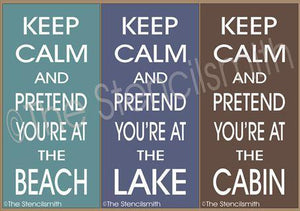2101 - Keep Calm and Pretend