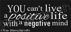 2114 - You can't live a positive life