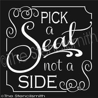 2140 - Pick a seat not a side