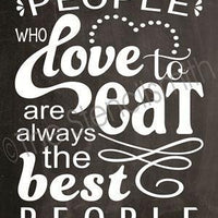 2281 - People who love to eat