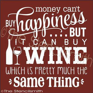 2293 - Money can't buy happiness ... WINE