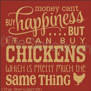 2328 - Money can't buy happiness ... chickens