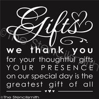 2337 - GIFTS we thank you