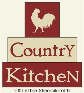 240 - Country Kitchen - BLOCK Stencil
