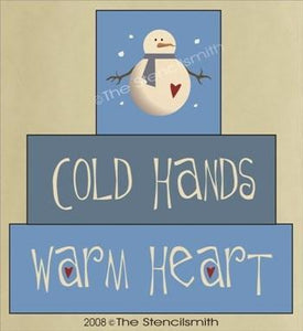 244 - Cold Hands Warm Hearts - block set