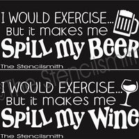 2478 - I would exercise but it makes me spill