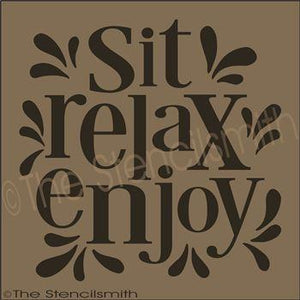 2540 - Sit Relax Enjoy