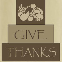 254 - Give Thanks - block set