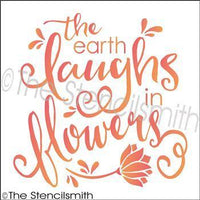 2578 - The earth laughs in flowers