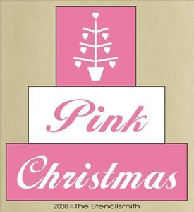 260 - Pink Christmas - block set
