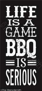 2639 - Life is a game ... BBQ