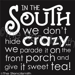 2644 - In the South we don't hide crazy