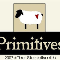 2831 - Primitives - sheep - BLOCKS Stencil