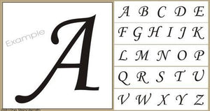 284 - ALPHABETS - Upper