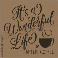 2925 - It's a wonderful life after COFFEE