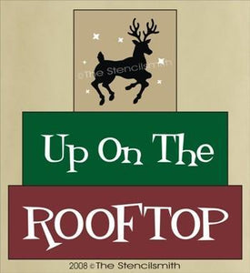 292 - Up On The Rooftop - block set