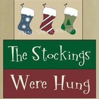 297 - The Stockings Were Hung - block set