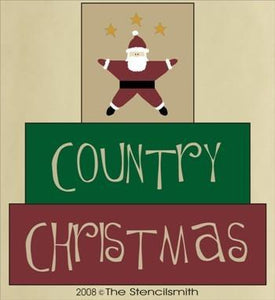 307 - Country Christmas - block set