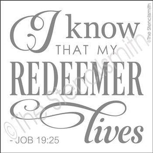 3151 - I know that my Redeemer lives