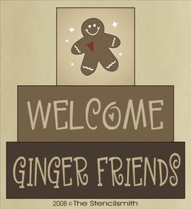 320 - Welcome Ginger  Friends - block set