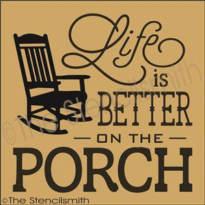 3257 - Life is Better on the Porch