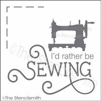 3377 - I'd rather be sewing