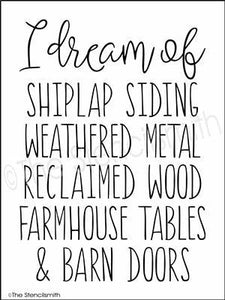 3456 - I dream of ... shiplap siding