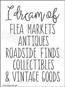 3459 - I dream of ... flea markets
